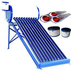 150L-180L Non-Pressurized aço galvanizado aquecedor solar de água compacto