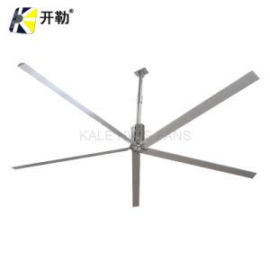 Hvls 4.9m de ahorro de energía de la planta industrial de gran almacén/ventilador de techo (KL-HVLS-D8BAA73).