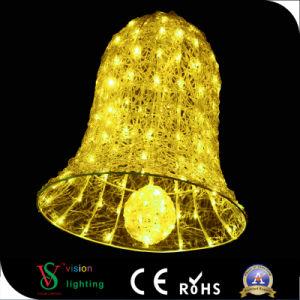 Hohes wasserdichtes Licht LED-Bell für im Freienweihnachtsdekoration