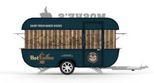 Nouveaux distributeurs de Fast Hot Dog Food Van/panier chaud de vente