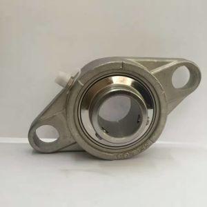 25mm de acero inoxidable de rodamiento de chumacera Ssucf205 con 4 tornillos brida