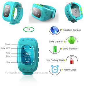 熱い販売OLEDスクリーンの子供GPSの腕時計Y2
