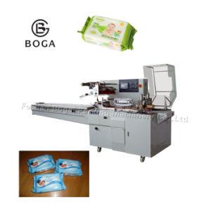 Faible coût oreiller bébé lingettes humides serviette de tissu de la machine d'emballage