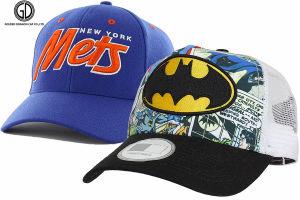 Nouveau bouton Snapback promotionnelle/Baseball/camionneur/sports/loisirs/custom/coton/Fashion Era Cap