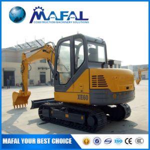 Macchina Xe60 dell'escavatore del cingolo del macchinario di costruzione