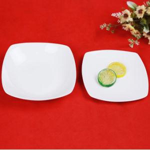 La Chine Fabricant bac dîner aliments bon marché de la plaque carrée