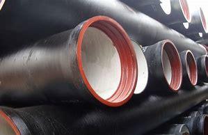 地下の換気の管のためのすべての指定の延性がある鉄の管のリスト