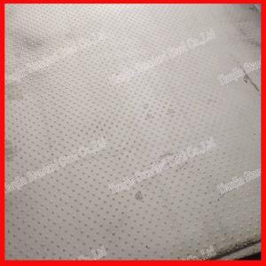 Bande de roulement en acier inoxydable AISI 201 Plaque à damier