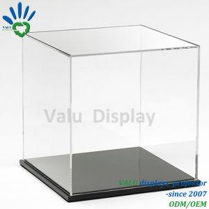 Scatola di presentazione acrilica libera della sfera di pallacanestro/gioco del calcio/calcio