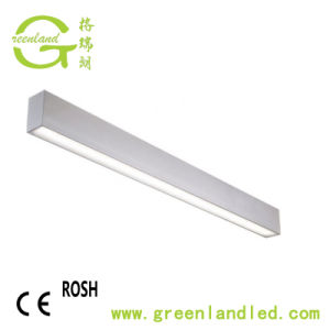 Indicatore luminoso di soffitto lineare di alluminio di alto potere LED di profilo della garanzia da 3 anni
