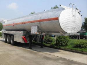 化学液体の半タンカーのトレーラー50000リットルの