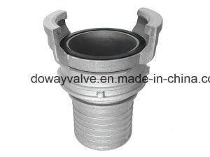 Accoppiamento della tibia della manichetta antincendio di N-F E29-572 Guillemin per il tubo flessibile composito