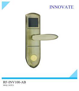 Liga de zinco de boa qualidade Inv RF100 Fechadura com cartão de hotel com pequena quantidade em Differenct Cor (apenas com pequena quantidade no barato preço)