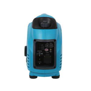 Monofásico de CA estándar de 1,5 KVA Super compacto silencioso Generador Gasolina