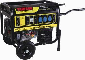 Generador de gasolina de 5000 vatios con EPA, el CARB, CE, Soncap Certificado (YFGF6500E2)