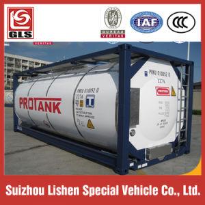 燃料LPGの輸送のための絶縁された20FT 40FT ISOタンク容器