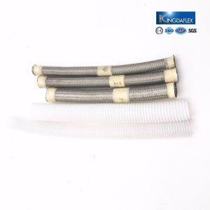 SAE100 R14のステンレス鋼304の編みこみのテフロンホース