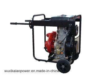 KDP30H3inch Cast Iron Water Pump mit 12.5L Fuel Tank Big Wheels und Handles