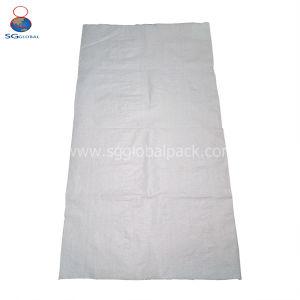 Venda por grosso de 50kg de PP branco saco de tecido para embalagem de farinha de trigo