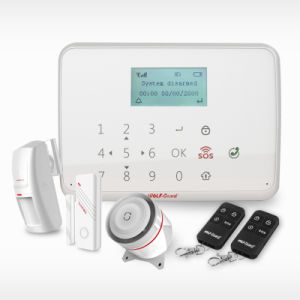 2016new Products Wolf Guard Wireless Alarm System Wireless Touch Screen GSM Alarm Yl-007mt1