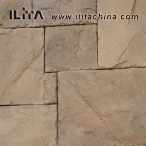 Mur en pierre artificielle de placages Panneau décoratif (30003)