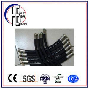 LÄRM En856 4sp/R9 4sh/R12 gute Qualitätsindustrie-Hochdruckwasser-hydraulischer Gummischlauch