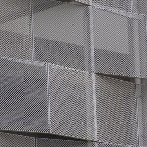 Acier inoxydable// aluminium perforé en laiton sculpté panneaux de diviseur de la salle de l'écran