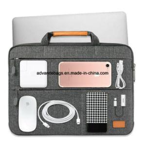 عادة [نوتبووك كمبوتر] محفظة وثيقة الحاسوب المحمول حقيبة مع [شوولدر سترب]