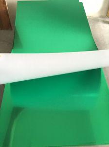 Adhesive0.6mm-3mm gravure laser rotatif CNC ABS ABS Double carte couleur feuille feuille de plastique pour la coupe de signalisation et l'insigne Thropy Laser