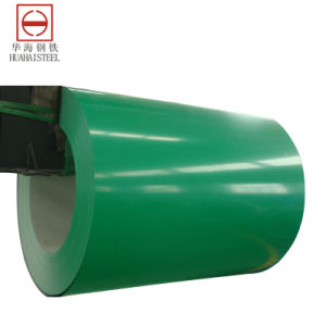 Vorgestrichener galvanisierter Stahl im Ring (PPGI)
