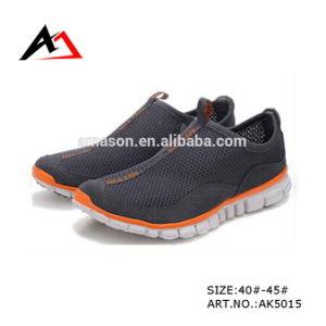Men (AK5015)のためのFootwearの余暇Shoes Casual Mesh Breatnable SLIP