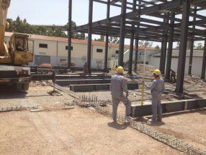 Materiale da costruzione per il gruppo di lavoro prefabbricato della struttura d'acciaio