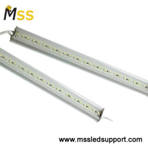 La luz de la barra de LED, LED de 12V DC estante bajo la luz, TIRA DE LEDS de luz de la barra para escaparate