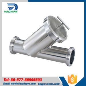 Raccord de tuyaux sanitaires Y Type à filetage mâle de la crépine du filtre