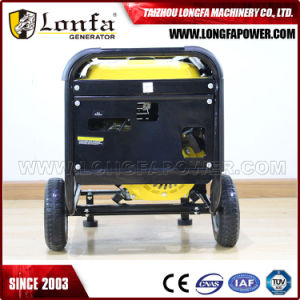 Promoção 7 kVA gerador gasolina silenciosa portátil elétrica gerador a gasolina