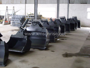 Benne à usage intensif de grue / Grab pièces de machinerie de construction pour l'EXCAVATEUR BULLDOZER