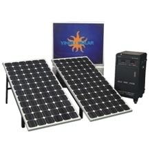 Готов к работе с солнечной электростанции энергетической системы для домашнего использования