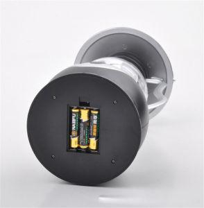 プラスチック12LED手動クランクのダイナモのランタンの屋外の再充電可能なキャンプライト