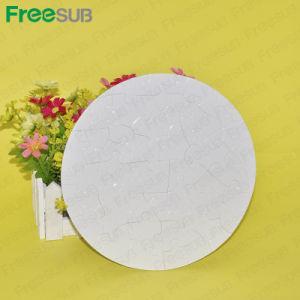 La sublimation du papier blanc casse-tête ronde (P23)