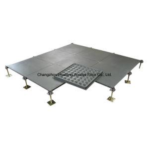 Naakte Concrete Staal Opgeheven Vloer
