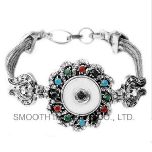 Tasto del braccialetto Chain dello schiocco del braccialetto del Rhinestone degli accessori dei monili del diamante DIY