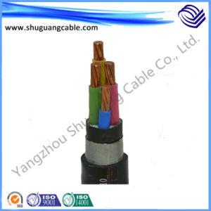 Медный провод заземления низкого напряжения электрического кабеля питания с XLPE короткого замыкания и ПВХ Оболочки