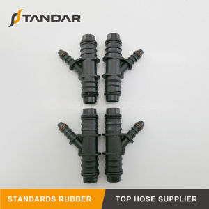 SAE17.50 Smooth Surface Auto Fuel Hose Connector Adapter for Cars