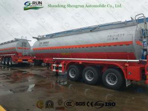 판매를 위한 30000L-60000L 연료/기름/화학 반 탱크 트레일러