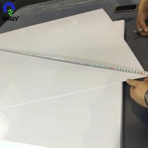 乳白色の白い磨かれたPVC印刷シート