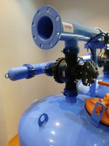 Areia de quartzo Double-Chamber água indústria o Sistema de filtração de mídia/ máquina de filtro de irrigação