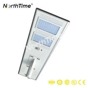 Integrado en el exterior 120W LED Solar inteligente de la luz de la Calle Jardín