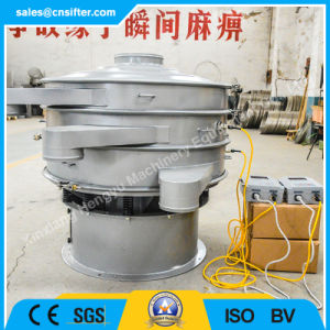 Vibration ultrasonique tamisage circulaire de la machine pour la poudre de quartz