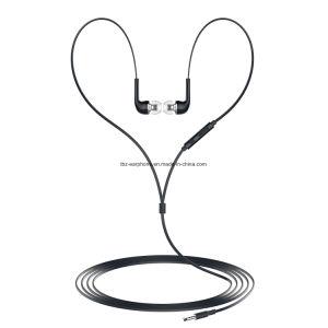 Tbz J5 Fone de ouvido com fio do fone de ouvido com microfone de música de 3,5mm