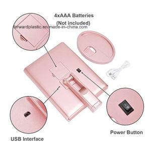 BSCI, Wca, Sqp, 월마트 공장 증명된, 삼중 LED 허영 미러 또는 메이크업 미러, 22의 LED 빛
